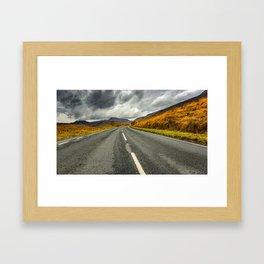 Winding Welsh Road Framed Art Print