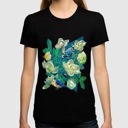 Blue Jays and Magnolias T-shirt