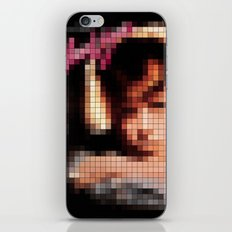 Bowie : Young Americans Pixel Album Cover iPhone & iPod Skin