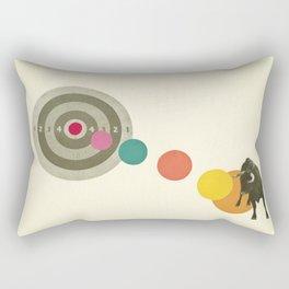 Bull's Eye : Taurus Rectangular Pillow