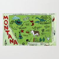montana Area & Throw Rugs featuring MONTANA by Christiane Engel