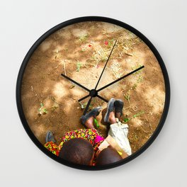 Kenya / Kitui Kids 2 Wall Clock