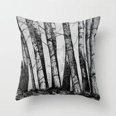 The Row  Throw Pillow