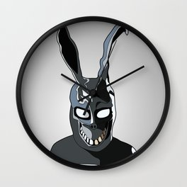 donnie darko - why are you wearing that stupid man suit? Wall Clock