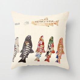 FORMOSA SERIES【Oncorhynchus masou formosanus】 Throw Pillow