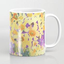 Yellow Daffodil Garden Coffee Mug