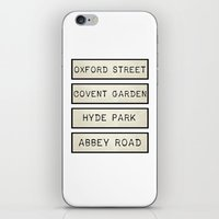 calendars iPhone & iPod Skins featuring London by Shabby Studios Design & Illustrations ..