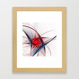 fractal design -24- Framed Art Print