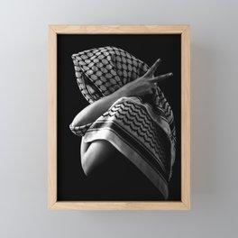 Peace Pose Framed Mini Art Print