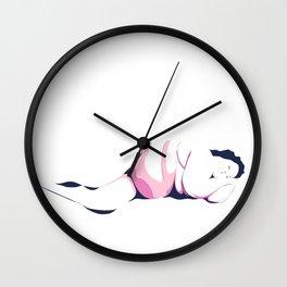 Dormant Girl n.2 Wall Clock