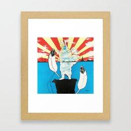 Sacred Land Framed Art Print
