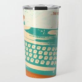 VINTAGE TYPEWRITER Travel Mug