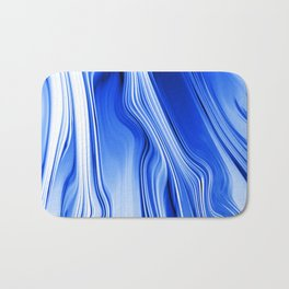 Streaming Blues Bath Mat