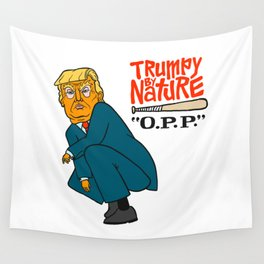 Trumpy by Nature Wall Tapestry