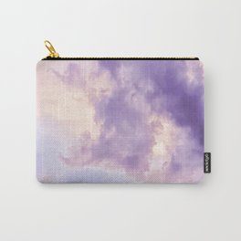 Purple Pink Clouds Carry-All Pouch