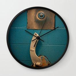 Broken Steel Toilet, A Wall Clock