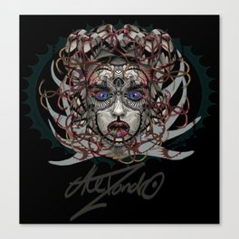 Google Medusa Canvas Print