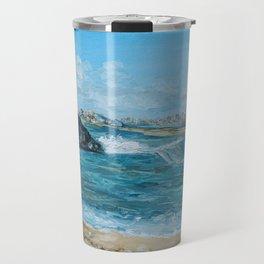 Sea Shore Travel Mug