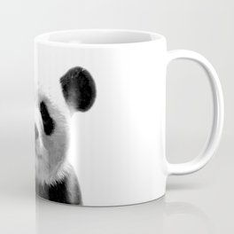 Black and white panda portrait Coffee Mug