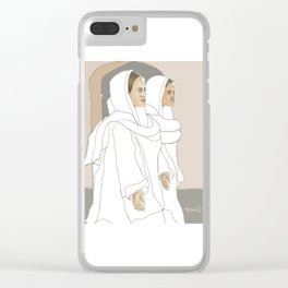 Punjabi Mutiyars 1 Clear iPhone Case