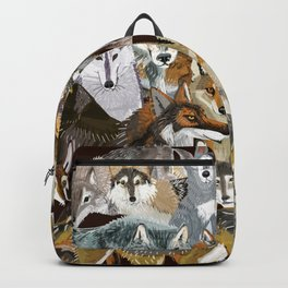 Wolves o´clock (Time to Wolf) Backpack