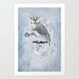 Owl Theory Art Print