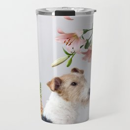 My baby sent me flowers Travel Mug