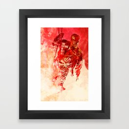 The Future Is Not Set Framed Art Print