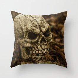 Halloween Skull 2 Throw Pillow