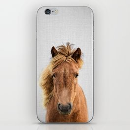 Wild Horse - Colorful iPhone Skin