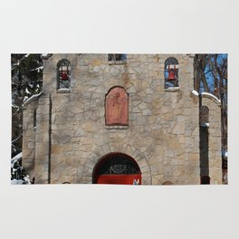 Portiuncula Chapel in Winter III Rug
