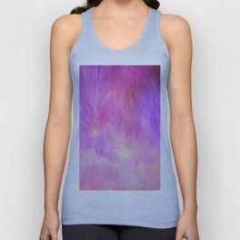 Crumpled Paper Textures Colorful P 704 Unisex Tank Top