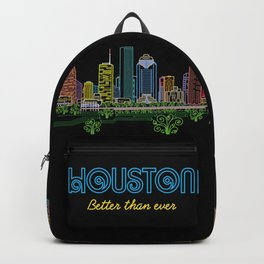 Houston Better Than Ever Circuit Backpack