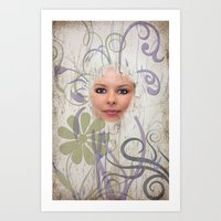 Face The World Art Print