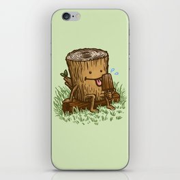 The Popsicle Log iPhone Skin