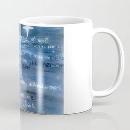 Love is an Ever Fixed Mark, It is the Star (Sonnet 116) Coffee Mug