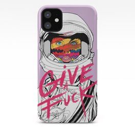 Give a Fuck iPhone Case
