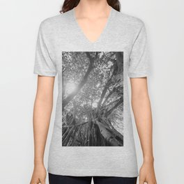 Banyan Tree Unisex V-Neck