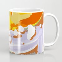 the thing Mugs featuring wild thing by Matthias Hennig