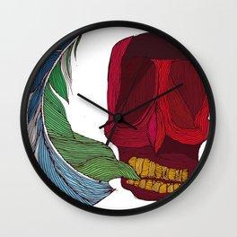 feathskull Wall Clock