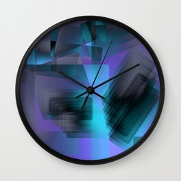 Escarpment Twilight Wall Clock