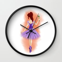 Heroic Meg Wall Clock