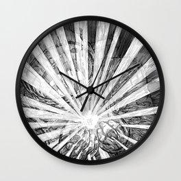 Whiteout Wall Clock