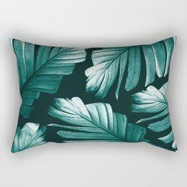 Tropical Banana Leaves Dream #2 #foliage #decor #art #society6 Rectangular Pillow