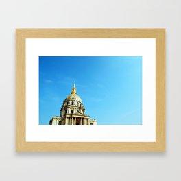 Les Invalides Framed Art Print