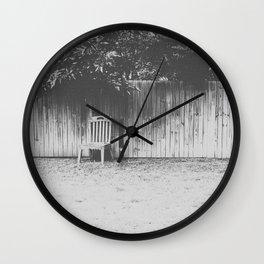 Vieille Chaise Wall Clock