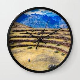 Old Civilization Wall Clock
