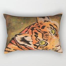 Warm Colors Rectangular Pillow