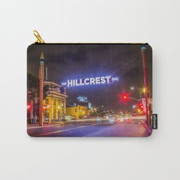 Hillcrest (San Diego) Sign - SD Signs Series #3 Carry-All Pouch