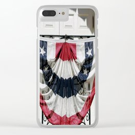 Country Pride Clear iPhone Case